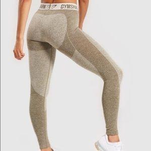 GymShark Flex Leggings Khaki XS - NWT
